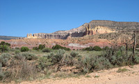 Approach to Ghost Ranch