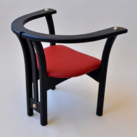 Painted Poplar Chair 3