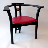 Painted Poplar Chair 1