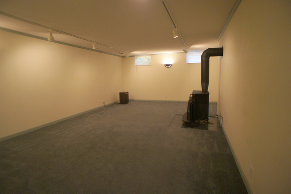 Basement before remodeling